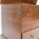 Dovetailed Walnut Blanket Chest