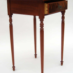 Federal Style Mahogany Side Table