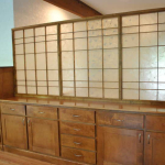 Maple Cabinets with Lumicor Shoji Screen